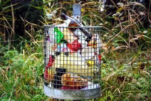Loc special amenajat pentru deșeuri alimentare
