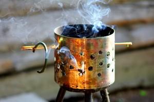 Soluții repelente fumigene
