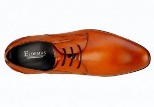 Pantofi smart pentru bărbați, cu închidere prin șnur în stil Derby