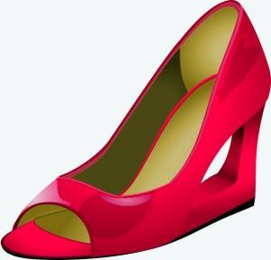 Pantofi cu detaliu peep toe și toc arhitectural derivat din toc ortopedic